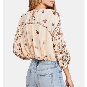 Free people wild flowers blouse